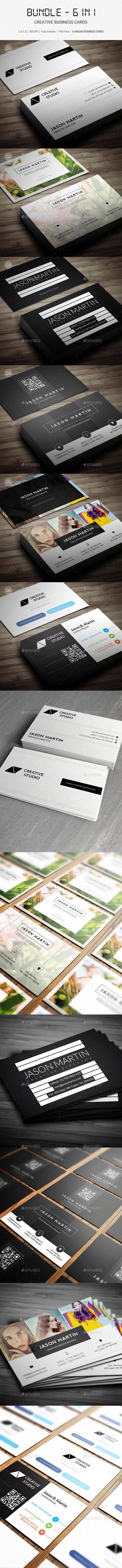 Bundle - Creative Business Cards - B26 - Creative Business Cards
