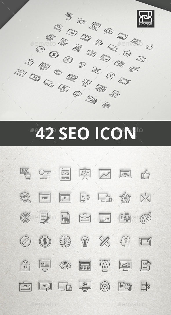 SEO Icon - Web Icons