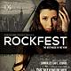 Rock Festival Flyer /Poster - GraphicRiver Item for Sale