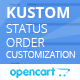 Kustom status order customization