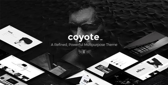 Coyote - A Refined, Powerful Multipurpose Theme - Creative WordPress