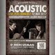 Acoustic Flyer / Poster - GraphicRiver Item for Sale