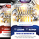 White Party Flyer v4 - GraphicRiver Item for Sale