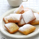 homemade new orleans beignet and a cup of coffee - PhotoDune Item for Sale