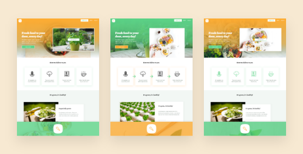 veggie – Sell or Showcase Anything Food Related