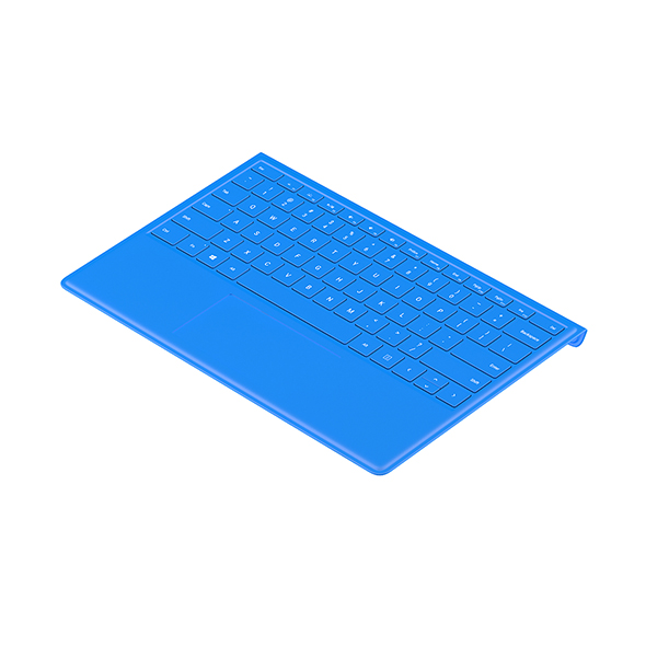 Surface Keyboard Bent - 3DOcean Item for Sale