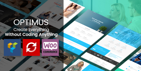 Optimus - Responsive Multipurpose WordPress Theme