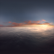 Aerial Sunset Ocean VR 360 01 - VideoHive Item for Sale