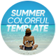 Summer Colorful Template - VideoHive Item for Sale