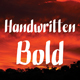 Handwritten Bold - GraphicRiver Item for Sale