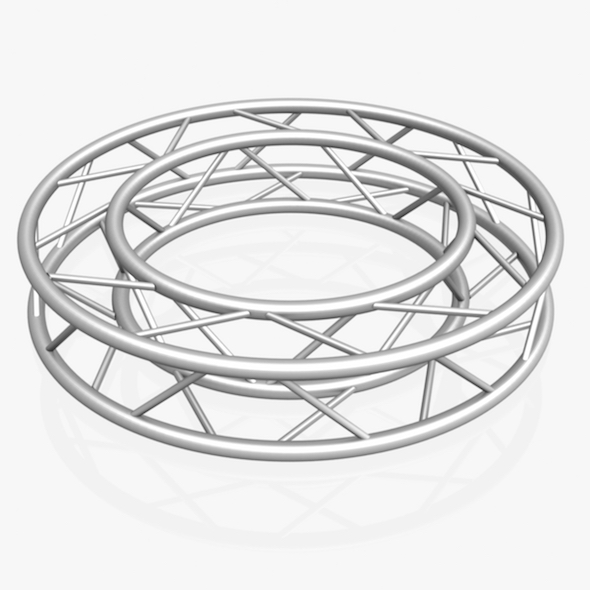 Circle Square Truss Full diameter 150cm - 3DOcean Item for Sale