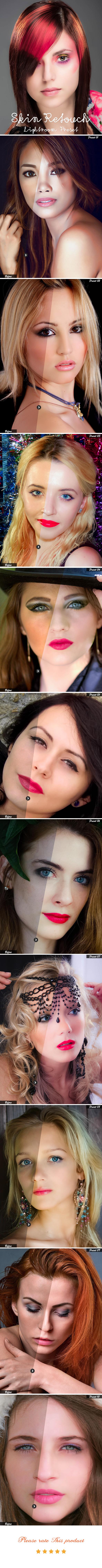 GraphicRiver Skin Retouch Lightroom Preset 20453917