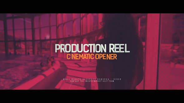Production Reel // Cinematic Opener