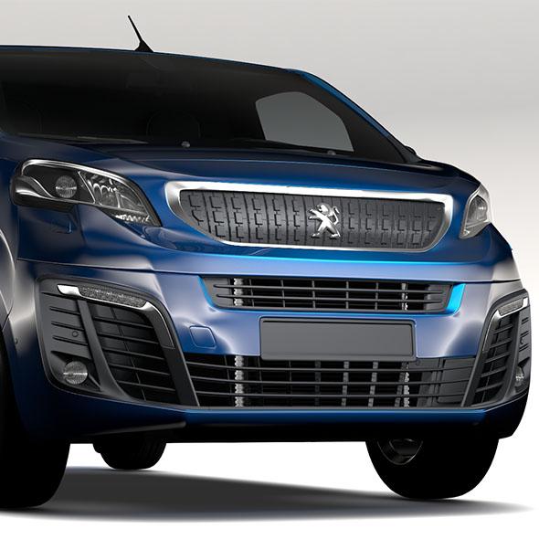 Peugeot Expert L3 2017 - 3DOcean Item for Sale