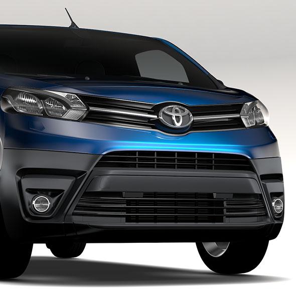 Toyota ProAce Van L3 2017 - 3DOcean Item for Sale