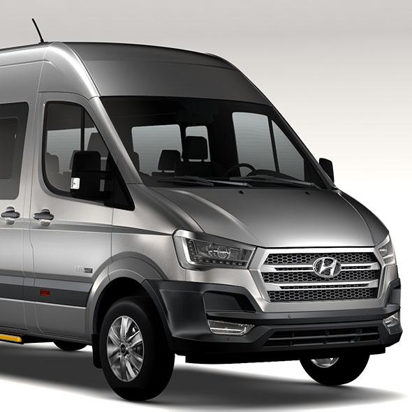 Hyundai H350 Minibus 2017 - 3DOcean Item for Sale