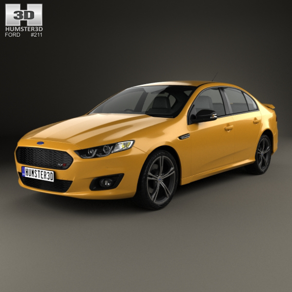Ford Falcon (FG) XR8 2015 - 3DOcean Item for Sale