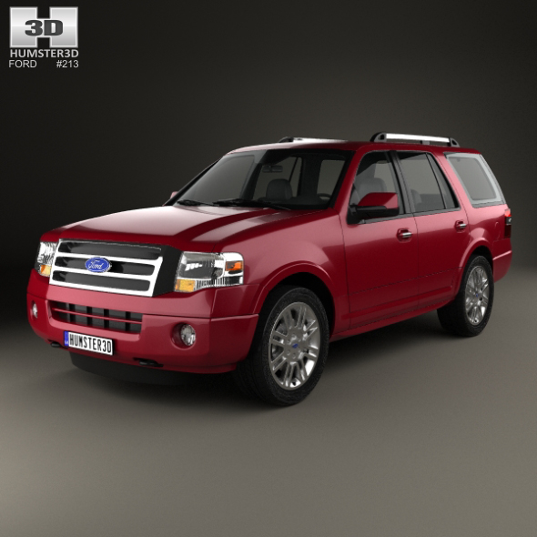 Ford Expedition Limited 2007 - 3DOcean Item for Sale