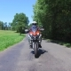 Motorcycle on the Rural Road - VideoHive Item for Sale