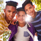 Download Multiethnic Group Of Teenagers Embracing Smiling At Camera from PhotoDune