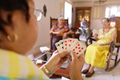 Old Women Have Fun Playing Card Game In Hospice - PhotoDune Item for Sale