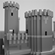 Medieval voxel castle maker Pack