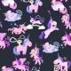 Unicorn Seamless Pattern, Magic Pegasus
