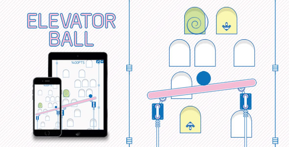 Download Elevator Ball - HTML5 Game