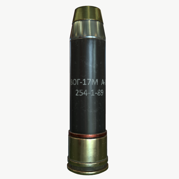 Launch grenade VOG-17 (CIS) - 3DOcean Item for Sale