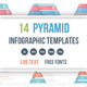 Pyramid Infographics Bundle - GraphicRiver Item for Sale