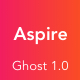Aspire - News & Magazine Clean Ghost Theme - ThemeForest Item for Sale