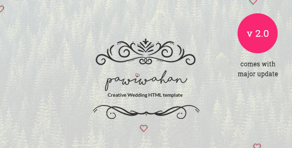 Pawiwahan - Onepage Wedding HTML Template - Wedding Site Templates