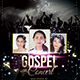Gospel Concert Church Flyer - GraphicRiver Item for Sale