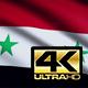 Syria Flag 4K