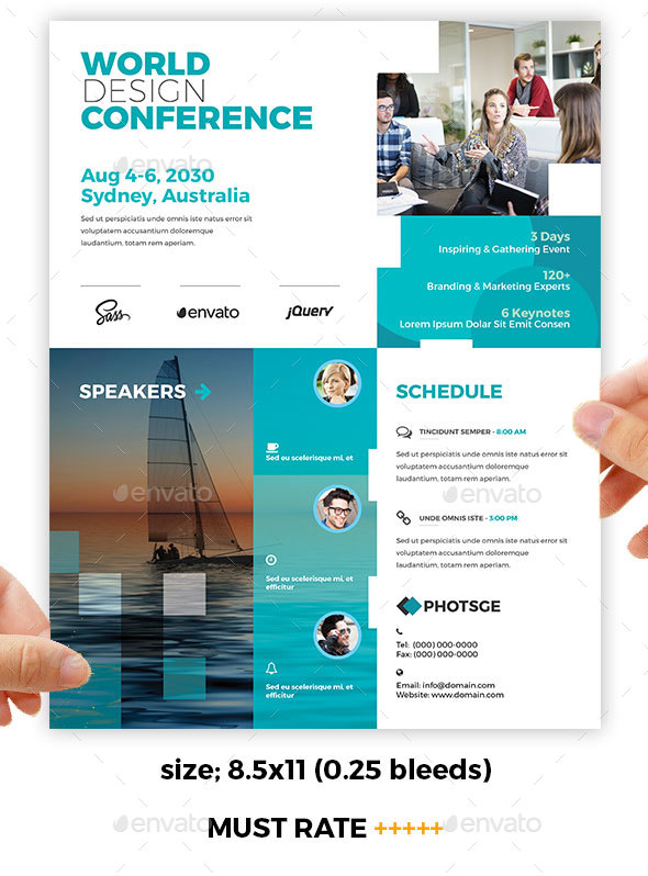 Conference – Training Flyer - Corporate Flyers