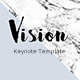 Vision Minimal Keynote Template - GraphicRiver Item for Sale