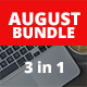 August Bundle 3 in 1 Presentation - GraphicRiver Item for Sale