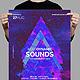 Aerodynamic Sounds Poster Template
