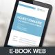 E-Book Questionnaire Web Design - GraphicRiver Item for Sale
