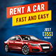 Rent a car flyer A4 - GraphicRiver Item for Sale