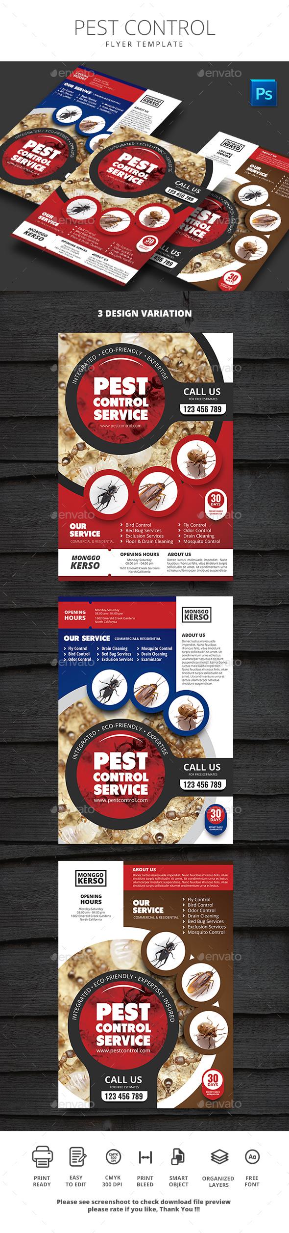 Pest Control - Commerce Flyers