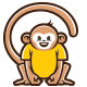 Monkeys Logo - GraphicRiver Item for Sale