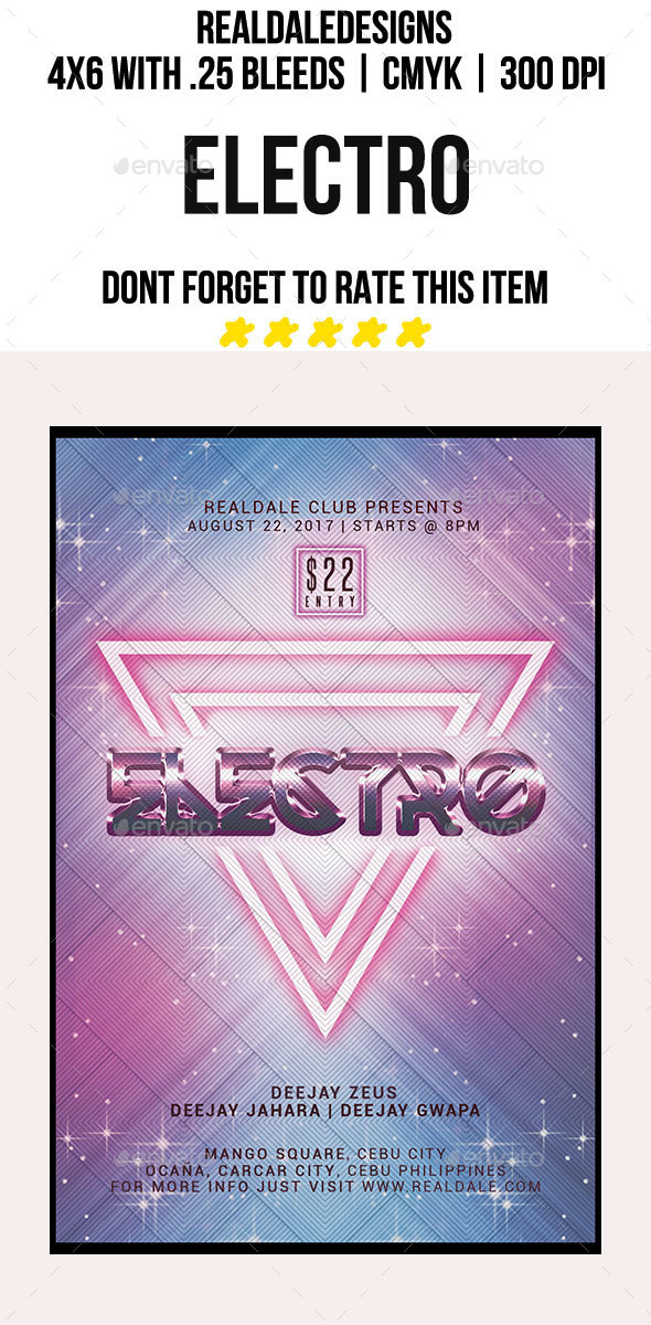 Electro - Events Flyers