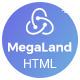 MegaLand - Multipurpose Landing Page Template