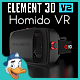 Homido VR for Element 3D