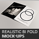 Realistic Bifold Mock-Ups - GraphicRiver Item for Sale
