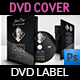 Funeral Ceremonies DVD Cover and Label Template - GraphicRiver Item for Sale