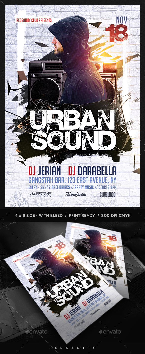 Urban Sound Flyer