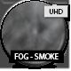 Side Wind Fog 4k - Grayscale Smoke