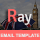 Ray - Multipurpose Responsive Email Template With Stamp Ready Builder Access